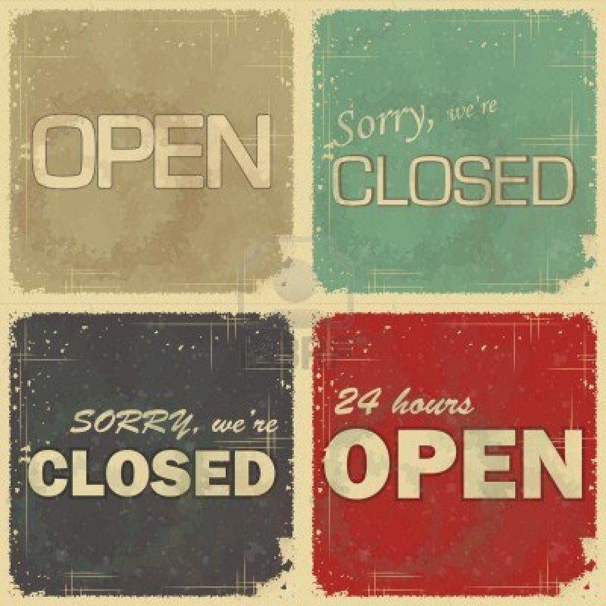 open-gesloten
